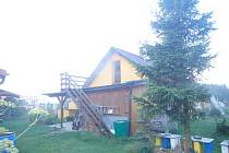 Požár kuchyně na Krnovsku od nevypnutého elektrického sporáku.