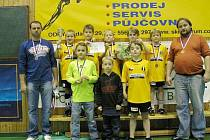 Mladí fotbalisté Juventusu Bruntál se vyznamenali a na kvalitně obsazeném turnaji v Bílovci obsadili třetí místo.