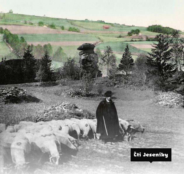 Velkoformátová publikace Čti Jeseníky bude založena na kolážích historických fotografií.