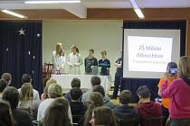 Albrechtickou školu reprezentovali Martina Němcová, Michaela Moravcová, Michal Šlor, Jiří Mlčoušek a Matěj Juráň.