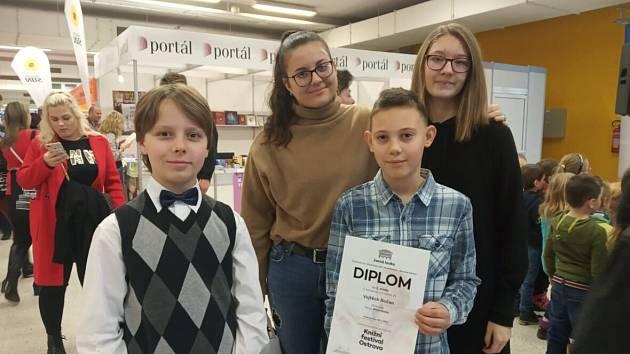 Opakovaný úspěch na Knižním festivalu v Ostravě