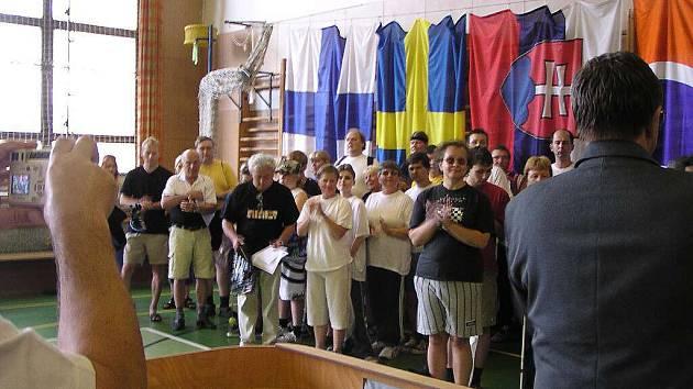 Zahájení turnaje.
