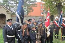 Hasiči na svěcení praporu do Třemešné pozvali také své polské partnery.