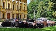 Velorex Club Dvorce si udělal výlet na linhartovský zámek.