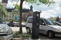 Placené parkování v Krnově.