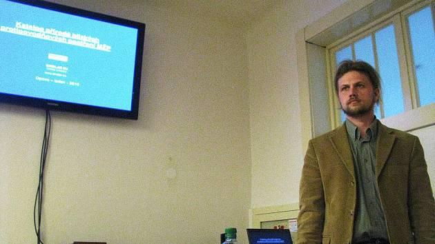 Martin Sucharda z firmy Šindlar zaměřil svou přednášku na přírodě blízká protipovodňová opatření neboli PBPO.