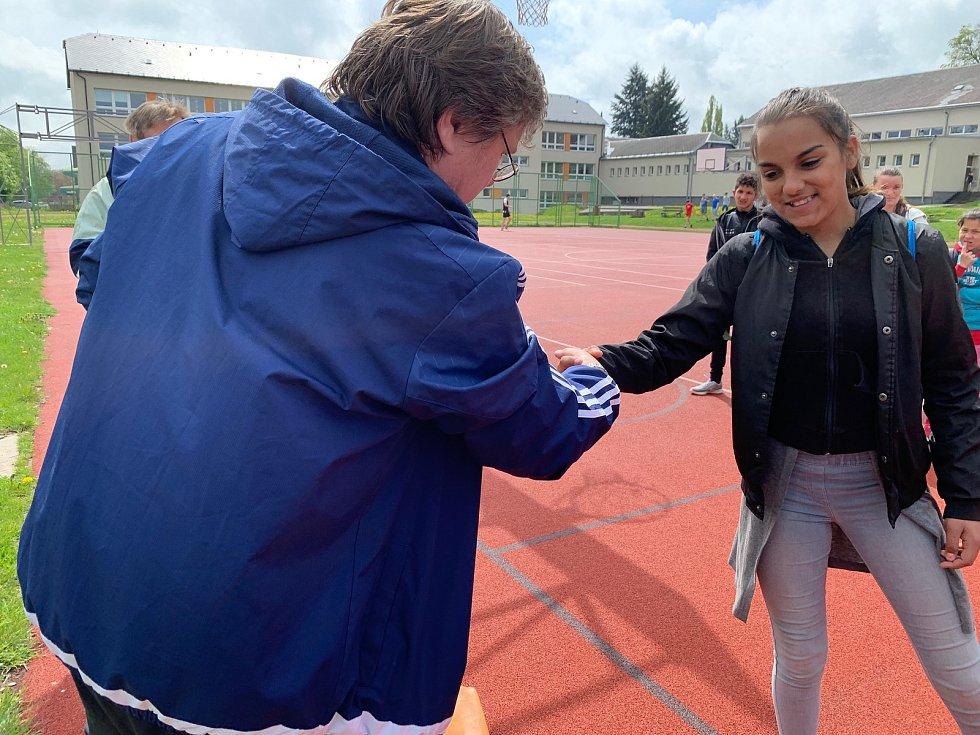 Okresní kolo atletického čtyřboje žáků se speciálními vzdělávacími potřebami proběhlo v Bruntále. Ti nejlepší si vybojovali postup do krajského kola.