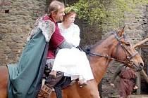 Miroslav Etzler hraje ve snímku Janek a Anežka hradního pána.