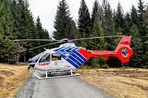 Týmy zdravotnické záchranné služby zasahovaly v sobotu 4. dubna v Jeseníkách u pacienta s náhlou zástavou krevního oběhu.