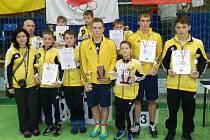 Zápasnické naděje Krnova ukázaly svou formu v Polsku, kde získali pět zlatých medailí, dvě stříbrné a jednu bronzovou. Navíc Adam Vlach s Romanem Chalupou získali ceny pro nejlepší závodníky.