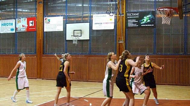 Krnovské basketbalistky. Ilustrační foto.