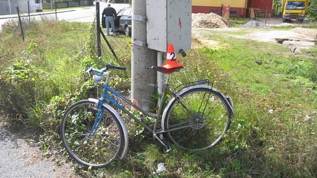 Sražené kolo.
