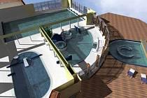 Takto má vypadat bazén v Bruntále.