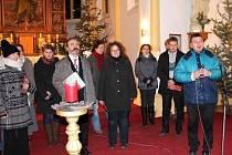 Kostel sv. Ondřeje ve Slezských Pavlovicích se zaplnil při tradičním vánočním koncertu. Letos při něm nechyběla ani Česká mše vánoční od Jakuba Jana Ryby, kterou nastudovalo Hudební sdružení Krnov.