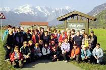 Krnovští turisté našli při společných mezinárodních akcích řadu přátel, se kterými prožili nezapomenutelné výlety.