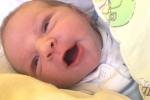 Jmenuji se TEODOR NEČESANÝ, narodil jsem se 3. října 2019, při narození jsem vážil 3360 gramů a měřil 49 centimetrů. Krnov.