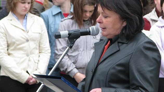 Starostka Krnova Renata Ramazanová.