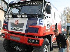 Kamionista Kolomý vyráží na další ročník Rallye Dakar