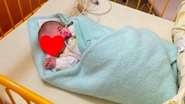 Malého chlapečka našli v krnovském babyboxu v úterý 4. května 2021 ve 22.24 hodin.