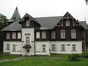 Na snímku lázeňský dům Vlasta.