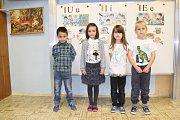 Prvňáčci ze Základní školy Malá Morávka, jejich třídní učitelkou je Alena Danihelková.