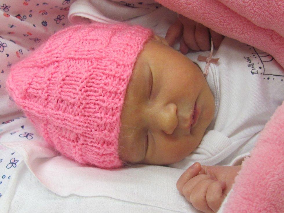 Jmenuji se Valerie Kochanová, narodila jsem se 29. října 2018, při narození jsem vážila 2775 gramů a měřila 48 centimetrů.