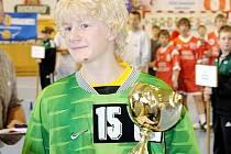Starší žáci Baníku OKD (na snímku kapitán Tomáš Mlotek) si zahráli megaturnaj ve Švédsku.