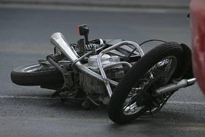 Na Bruntálsku se staly dvě motorkářské nehody.