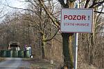 Hraniční přechod s Polskem na Krnovsku. Ilustrační foto.