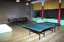 Herna stolního tenisu v Bruntálu