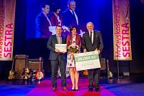 Monika Zouharová z krnovské ambulance onkologie zvítězila v soutěži Moravskoslezská sestra 2017.
