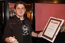 Držitel výroční klubové ceny za rok 2012 Tomáš Koňařík. Kromě pamětního listu získal i svou vlastní bustu. Tu vyrobila místní výtvarnice Míla Hudečková.