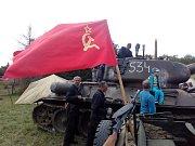 Rekonstrukce válečných operací na Osoblažsku přilákala do Liptaně přes dva tisíce diváků. Byli zvědaví především na tank T-34 a sovětskou stíhačku Jakovlev JAK-3.