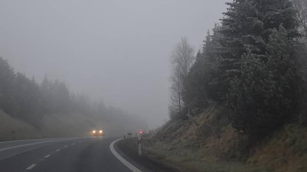 Tomu, co zahalilo okres Bruntál, se říká pochmurné počasí.