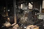 Zkrachovalou textilku Karnola, národní kulturní památku v Krnově, zničil požár v prosinci 2017.