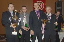 Vítězný celek Krnovské bowlingové ligy, Koulometi.