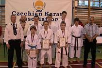 Gymnasion dojo karate TJ Krnov. Ilustrační foto.