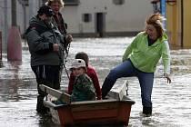 Povodně - Ilustrační foto.