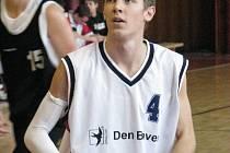 Krnovští mladíci prohráli po šesté v řadě. Matěj Smička (na snímku) dal proti České Lípě třináct bodů.