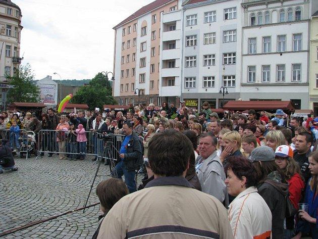 Hornoslezské slavnosti v Krnově navštívilo několik tisíc lidí.