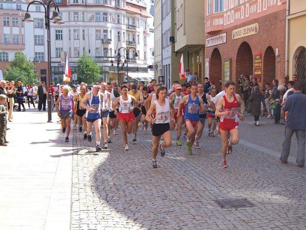 Slavnosti provázel již tradičně půlmaraton.