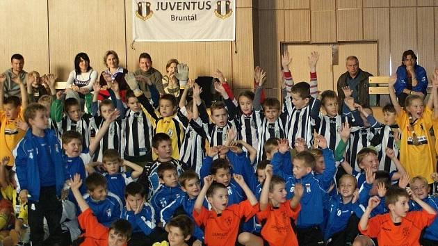 Fotbalová přípravka Juventusu Bruntál. Ilustrační foto.