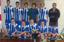 Vítězství v halovém turnaji v kopané O pohár VV MS KFS a přeborníka OFS Bruntál si právem vybojovali fotbalisté Olympie Bruntál.