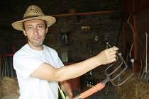 Vidle rybniční byly pro zakladatele muzea vidlí Jana Gemelu velkým překvapením. Dosud o takovém nástroji neslyšel.