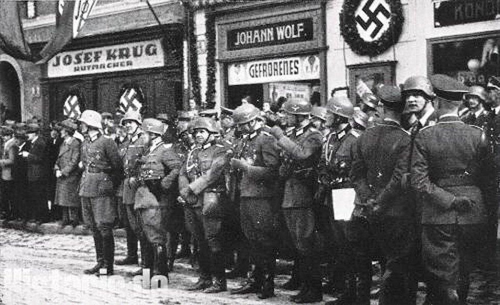 BRUNTÁL očekává 7. října 1938 návštěvuAdolfa Hitlera.