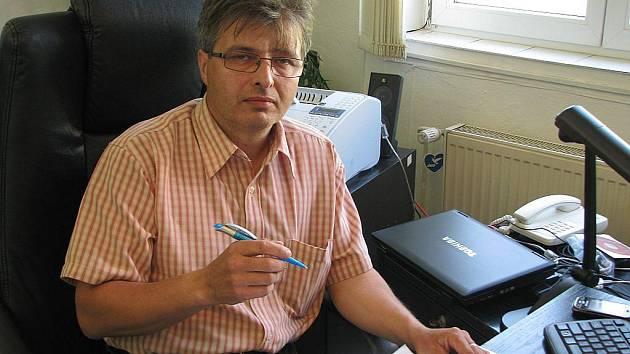 Ředitel bruntálských technických služeb, Václav Frgal.
