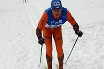 Michal Kautz v bílé stopě.