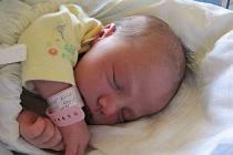 Ella Durčáková, se narodila 25. října 2011, vážila 3480 gramů a měřila 50 centimetrů, maminkou je Monika Fedorová, tatínkem je Jiří Durčák, Krásné Loučky