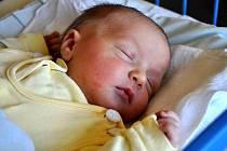 Ondřej Klapil, narozen 18.4.2011, váha 3,685kg, míra 48cm, Rázová. Maminka Kateřina Vlachynská, tatínek Martin Klapil.