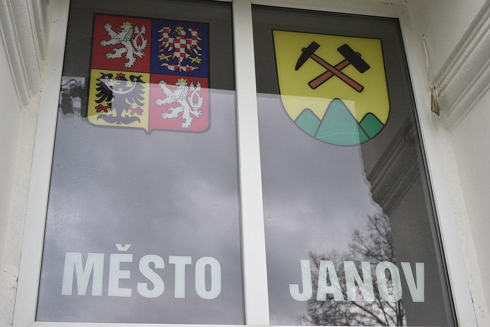 Starosta města Janova Lubomír Volný.